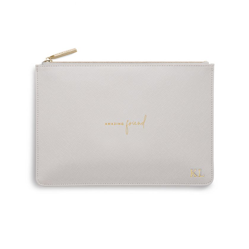 PERFECT POUCH - AMAZING FRIEND - PALE GREY