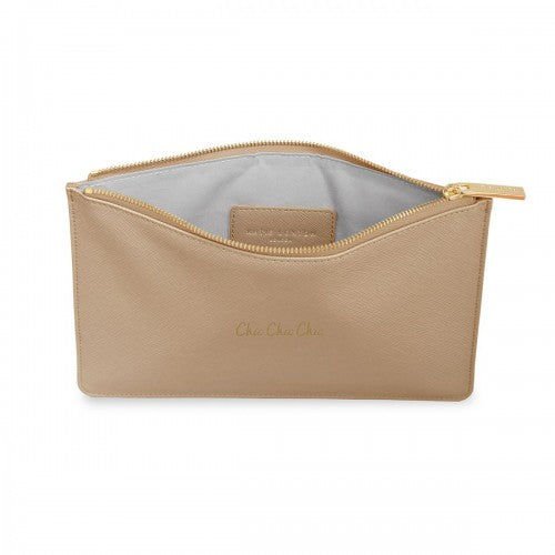 PERFECT POUCH - CHIC CHIC CHIC - TAN