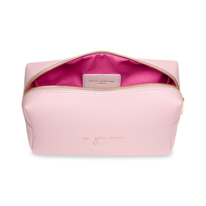 COLOUR POP WASH BAG - BE-YOU-TIFUL - PINK