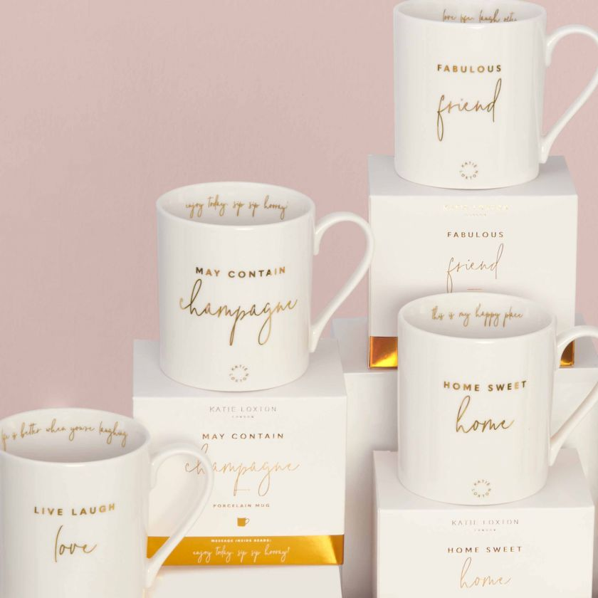 PORCELAIN MUG - MAY CONTAIN CHAMPAGNE