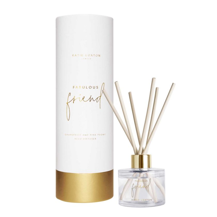 SENTIMENT REED DIFFUSER - FABULOUS FRIEND - GRAPEFRUIT AND PINK PEONY