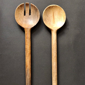 Wooden salad servers vara store 1