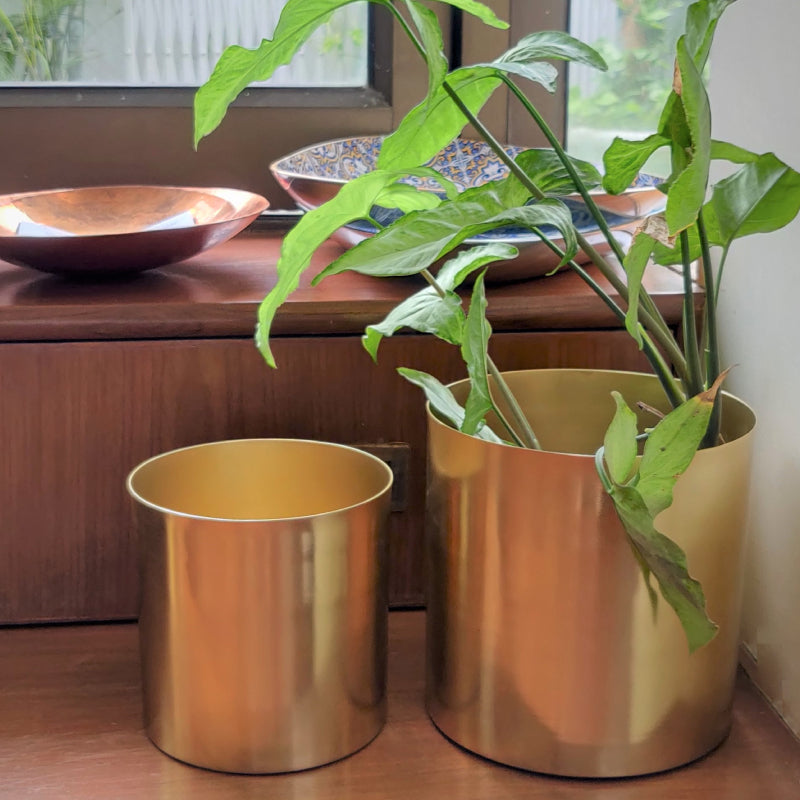 Brass planter covers vara store 1