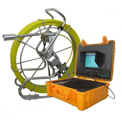Long Range 3488T Sewer Camera with 400ft Cable and Footage Counter
