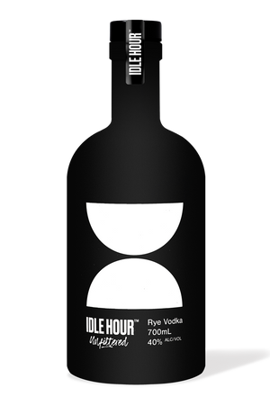 Idle Hour Unfiltered Rye Vodka 700ml