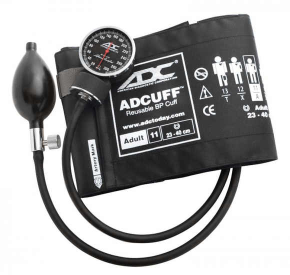 ADC 720 Series Deluxe Sphygmomanometer Manual Blood Pressure Unit - MedWest Inc.