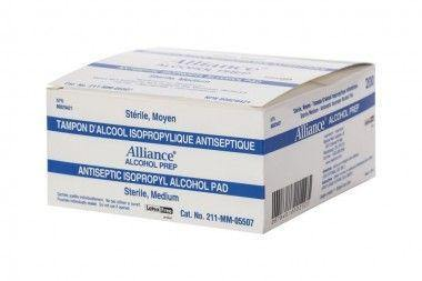 Alcohol Prep Pads 200/bx - MedWest Inc.