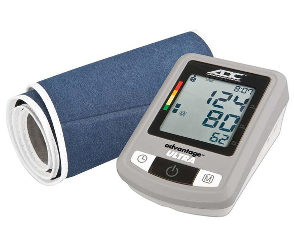 ADC Advantage Ultra 6023N Advanced Duo Automatic Digital Blood Pressure Monitor with PC Link & AC Adapter - MedWest Inc.