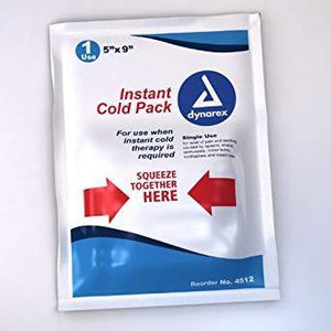 "Dynarex Instant Chemical Cold Packs 5"" x 9"", 24/cs - MedWest Inc."