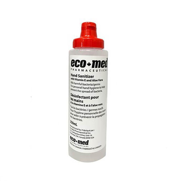 Eco+Med Hand Sanitizer - 250ml - MedWest Inc.