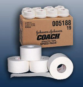 "Johnson & Johnson Coach Trainers Tape 1 1/2"" x 15 yds, 32/cs - MedWest Inc."