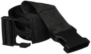 "Western Utility Straps Traction Harness Mobilization Belt Utility Black Straps 96"" (8')"
