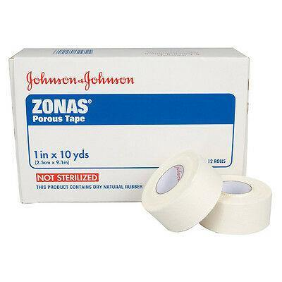 Johnson & Johnson Zonas Porous Trainers/Hospital Zinc Oxide Cloth Tape - MedWest Inc.