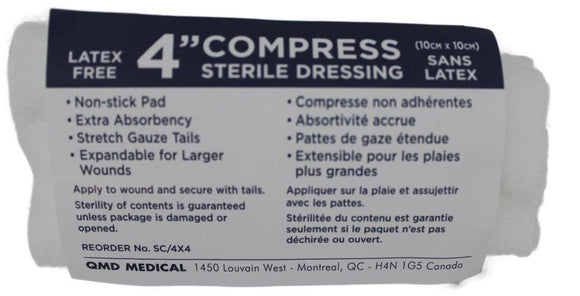 Compress Bandages with Ties 4