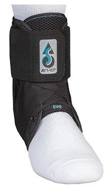 ASO EVO Ankle Stabilizer Ankle Brace, Black - MedWest Inc.