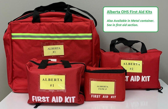 Alberta Number OHS First Aid Kit - Soft Kit - MedWest Inc.