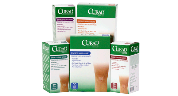 Curad Steri-Strips Re-Inforced Skin Closures - MedWest Inc.