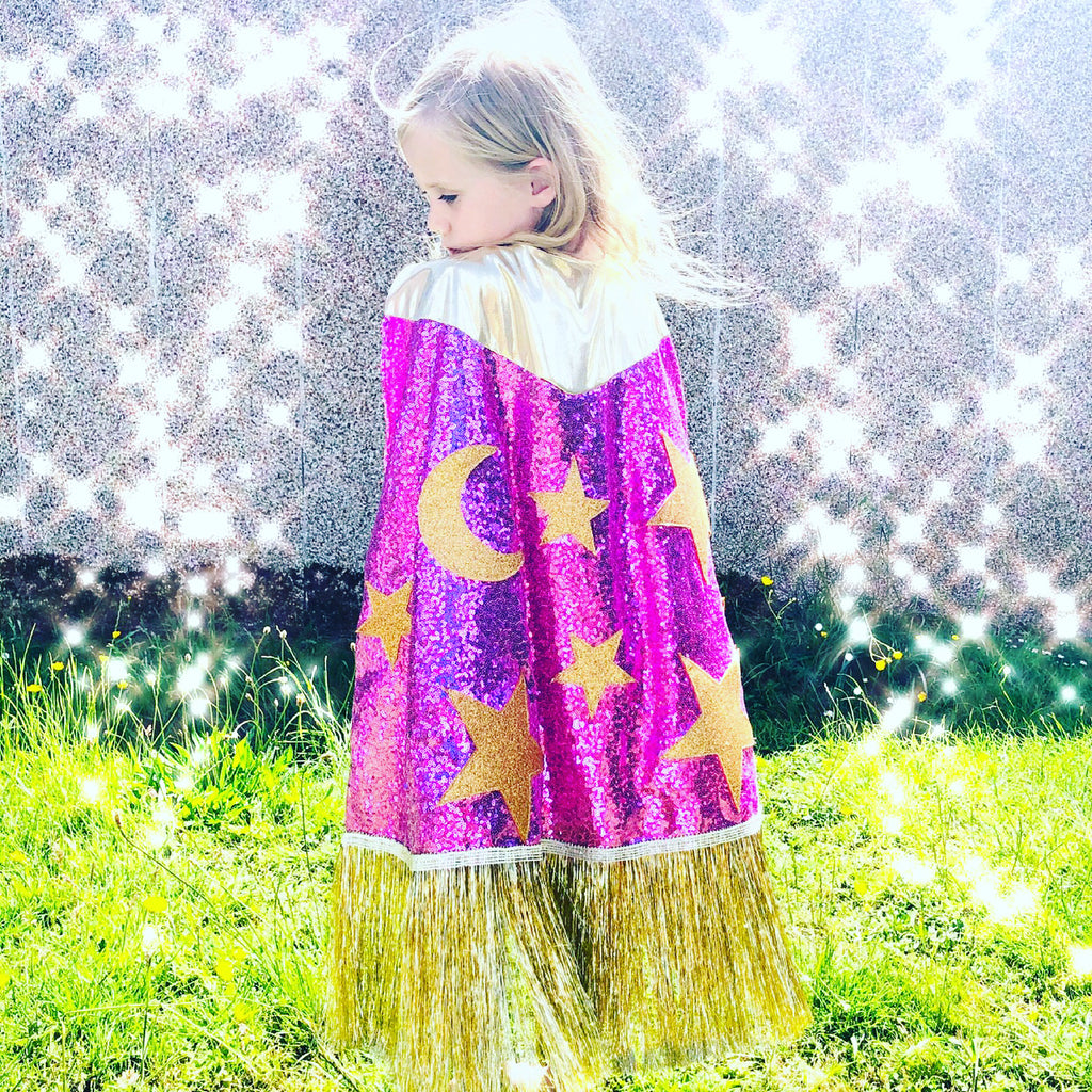 Celestial Tinsel Kids Cape