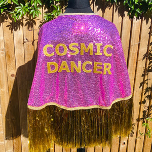 Tinsel Town Cape - Cosmic Dancer Edition