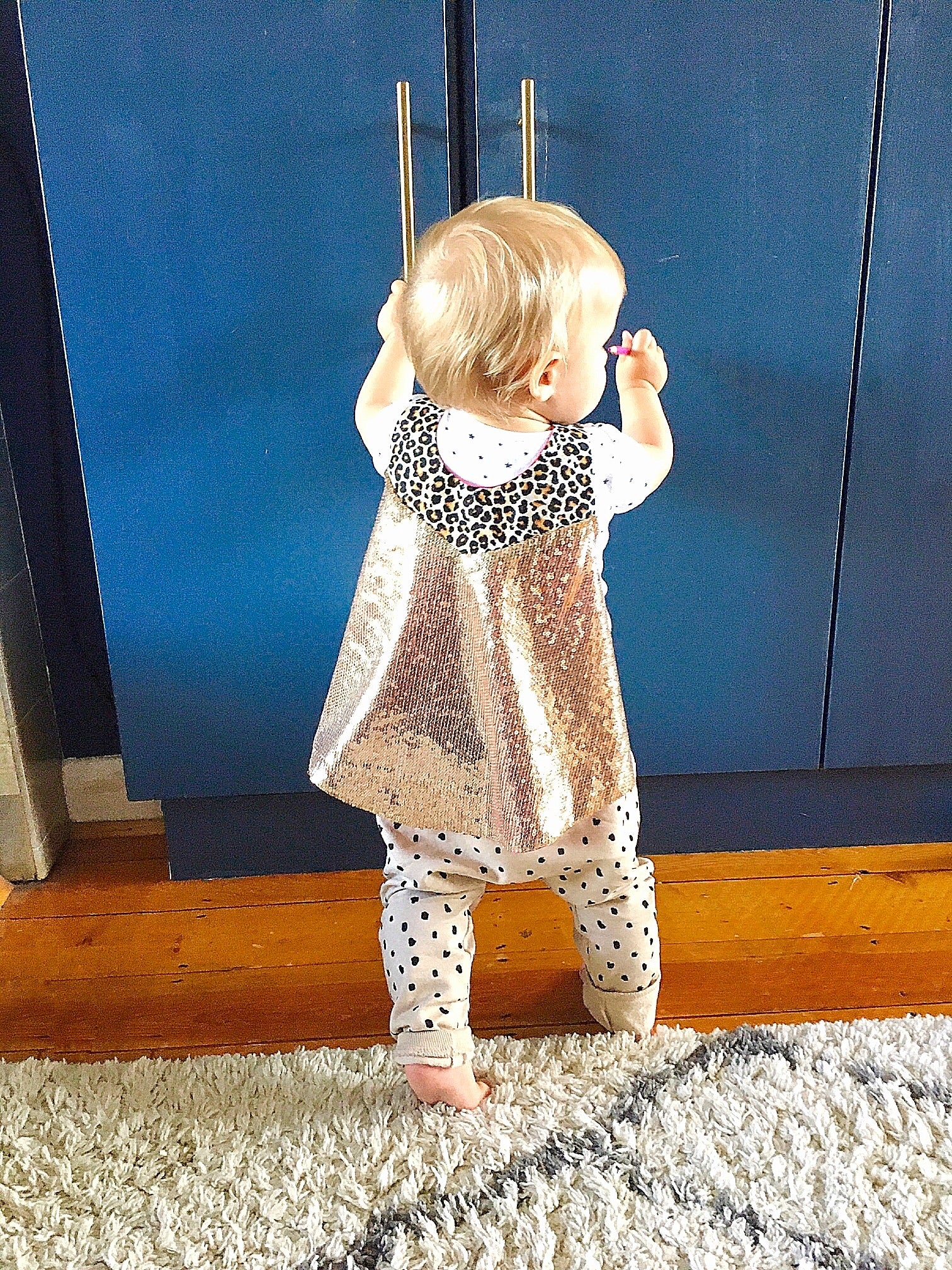 BABY Hero Cape - Leopard and Gold Edition Pre Order