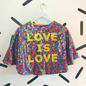 LOVE IS LOVE CAPE