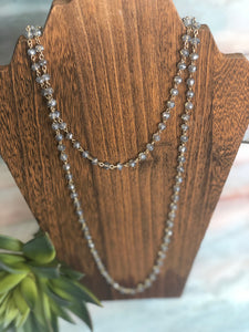 Double Bead chain necklace