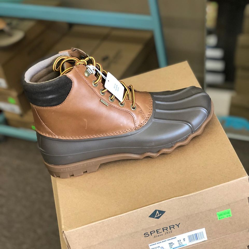 Mens Sperry Avenue duck boot