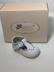 Angel Dottie scalloped perforated Mary Jane