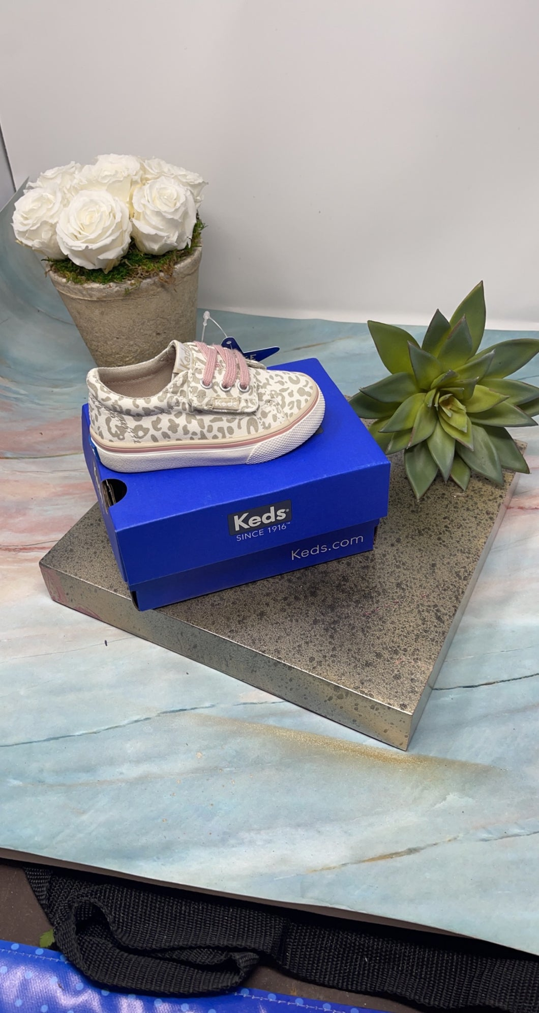 Keds Jumpkick Jr Snow leopard
