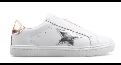 Little Kids Hayden's Star slip on sneakers