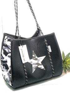 Ahdorned handbags/totes