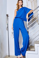Load image into Gallery viewer, Blue jumpsuit