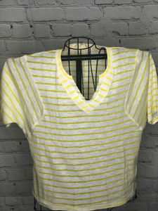 Sunshine vibes V neck