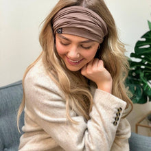 Load image into Gallery viewer, Mocha Multi-Function Face Scarf / Bandanas / Headbands / Face Mask