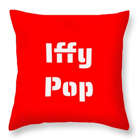 Iffy Pop - Throw Pillow