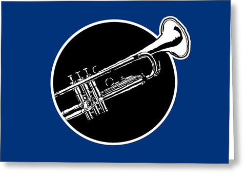 Trumpet - Greeting Card