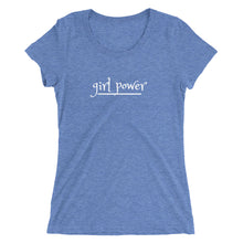Load image into Gallery viewer, Ladies' short sleeve t-shirt/ Girl Power