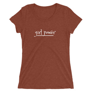 Ladies' short sleeve t-shirt/ Girl Power