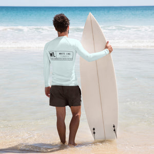 "Men's Rash Guard ""reelin' in deals"" fishing/ sun shirt"