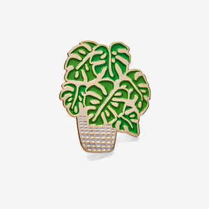 The Good Twin Co - Monstera Pin