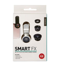 Load image into Gallery viewer, IS Gift - Smart FX Clip on Phone Camera Lens 3pk