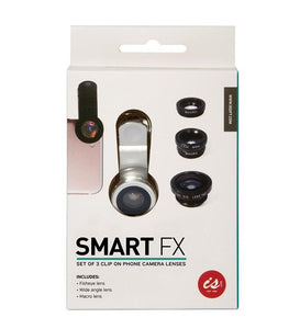 IS Gift - Smart FX Clip on Phone Camera Lens 3pk