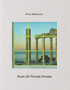 Areaware - Rule of Thirds Finder