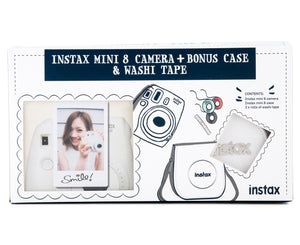 Fujifilm - Instax Mini 8 Camera Black Bundle
