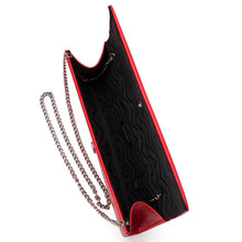 Load image into Gallery viewer, Olga Berg - LANA Patent Clutch Red