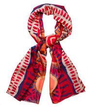 Load image into Gallery viewer, Murdie Morris - Red silk scarf