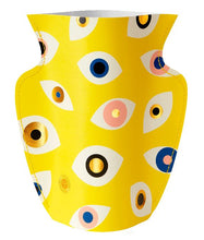 Load image into Gallery viewer, Octaevo - Large Paper Vase Nazar Yellow