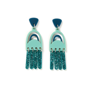 Martha Jean - Breeze Earrings Sage