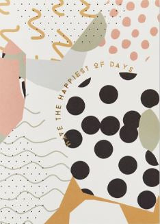 Katie Leamon card - Collage Art Have the Happiest of Days
