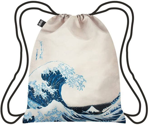 LOQI - Backpack Hokusai